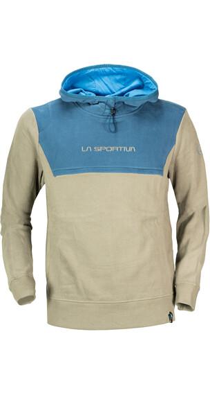La Sportiva M's Bishop Hoody Taupe/Dark Sea Blue
